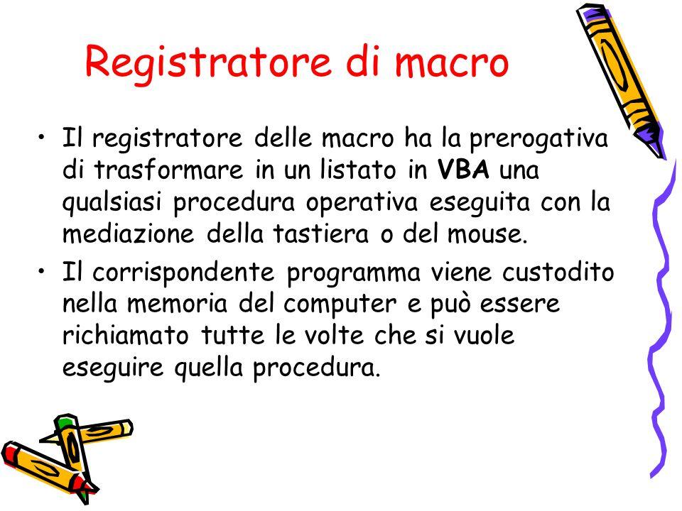 Registratore di macro