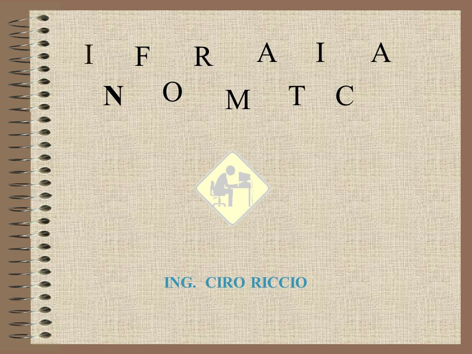 A I A F R I O N T C M ING. CIRO RICCIO