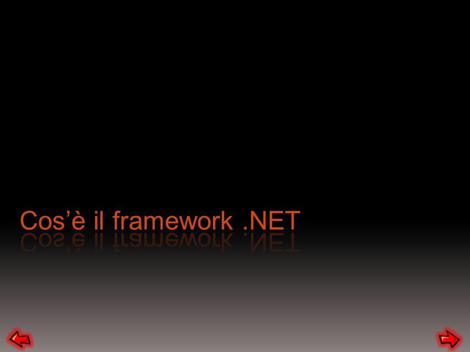 Cos'è il framework .NET