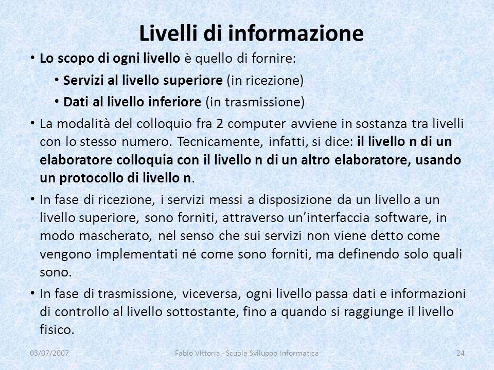 Livelli di informazione