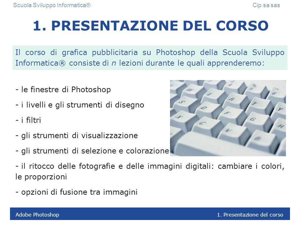 1. PRESENTAZIONE DEL CORSO