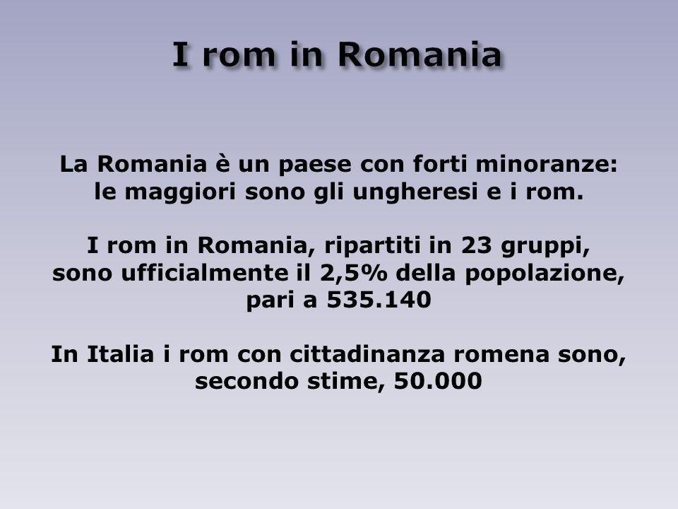 I rom in Romania