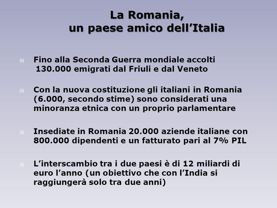 un paese amico dell'Italia