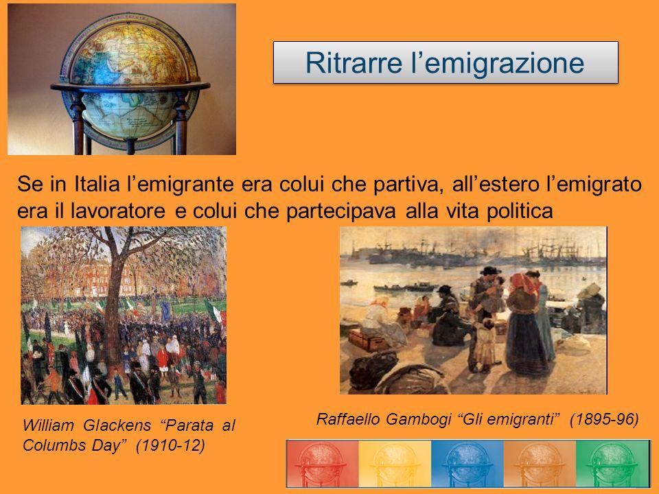 Ritrarre l'emigrazione