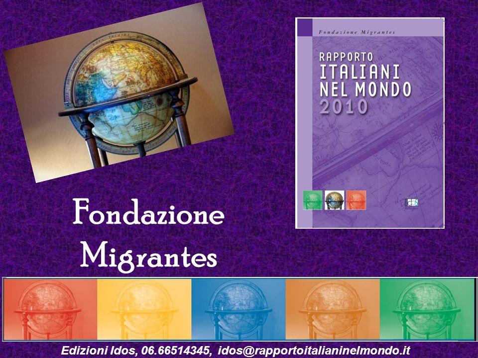 Edizioni Idos, 06.66514345, idos@rapportoitalianinelmondo.it