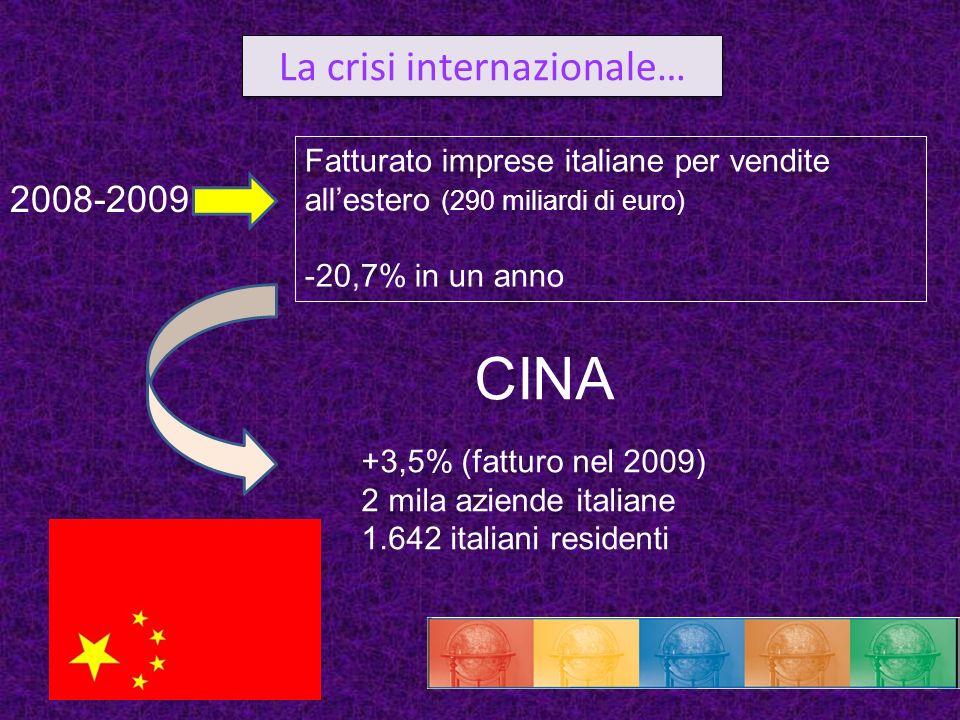 La crisi internazionale…