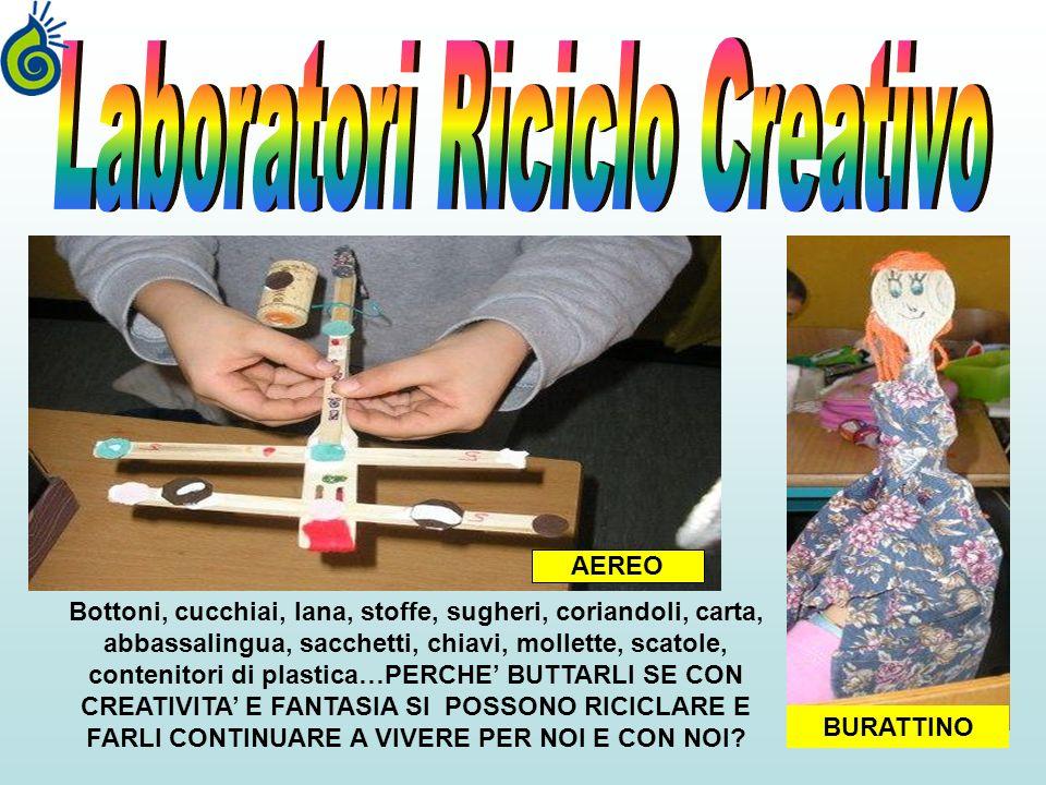 Laboratori Riciclo Creativo