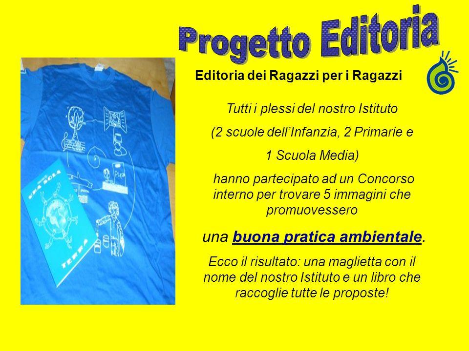 Progetto Editoria una buona pratica ambientale.