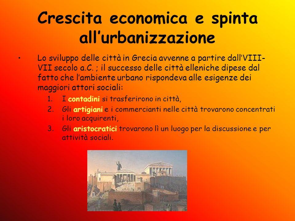 Crescita economica e spinta all'urbanizzazione