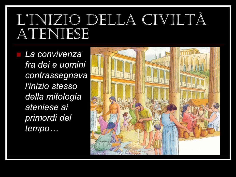 L'inizio della civiltà ateniese