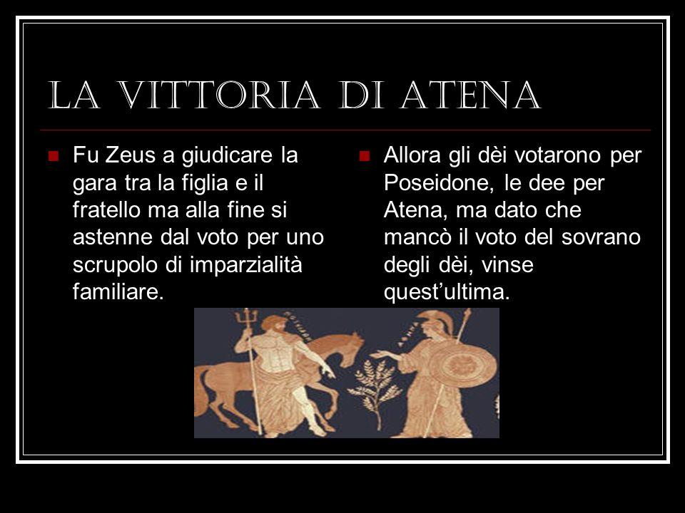 LA VITTORIA DI ATENA