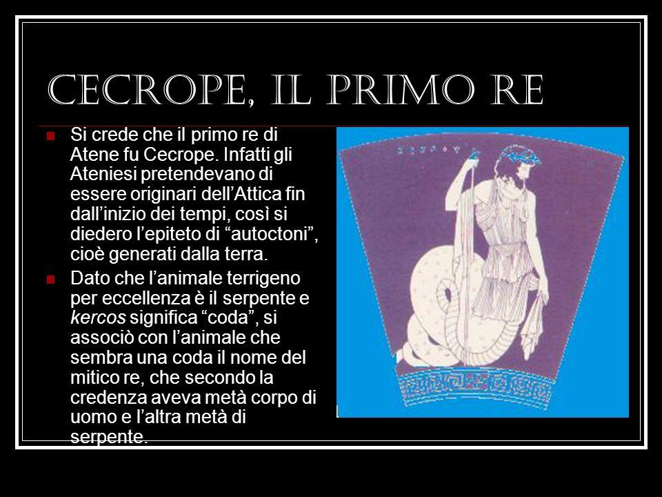 CECROPE, IL PRIMO RE