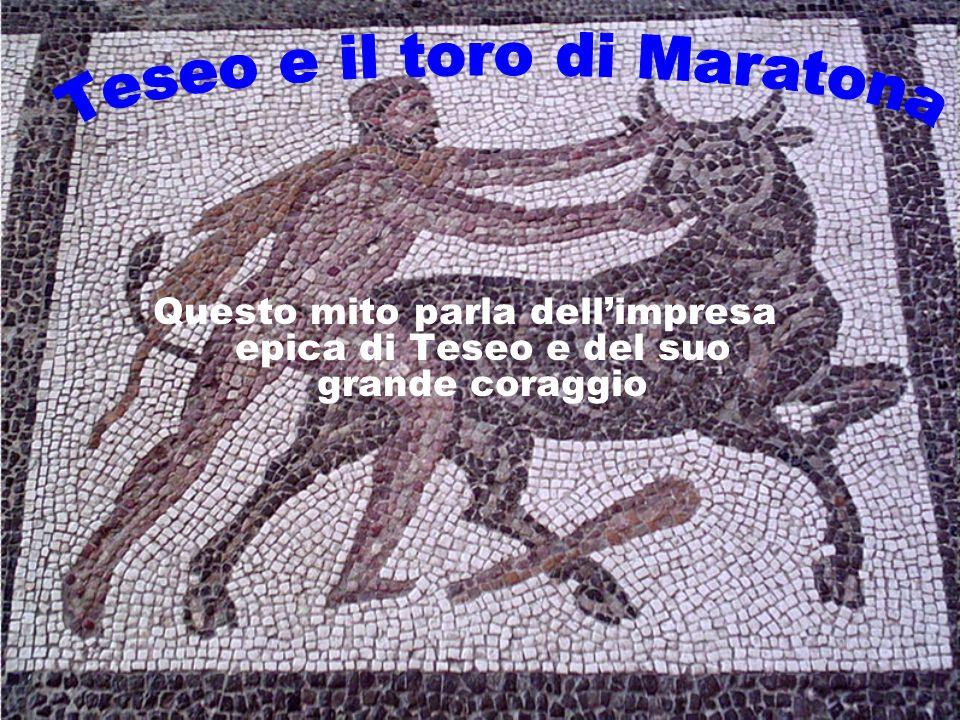 Teseo e il toro di Maratona