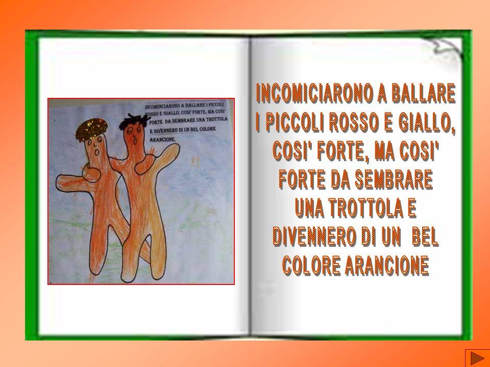 INCOMICIARONO A BALLARE I PICCOLI ROSSO E GIALLO,