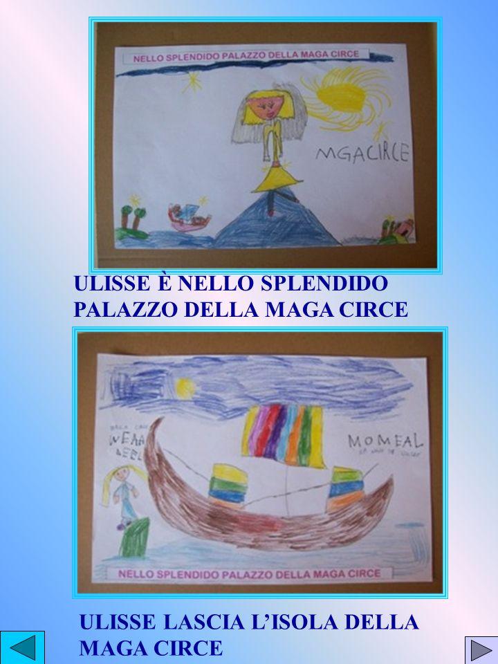 ULISSE È NELLO SPLENDIDO PALAZZO DELLA MAGA CIRCE