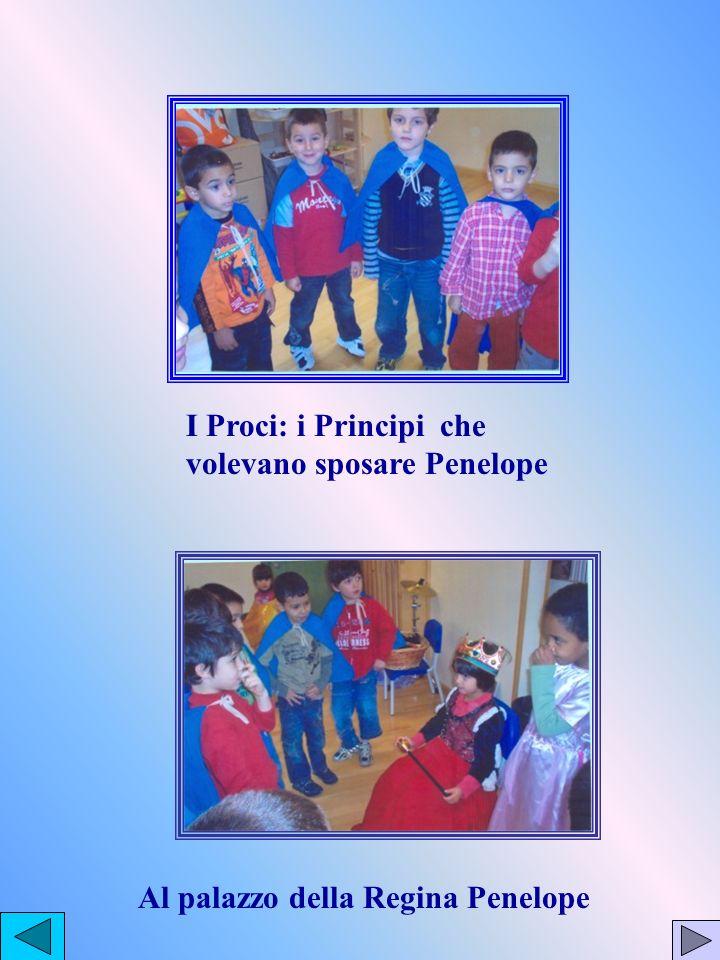 I Proci: i Principi che volevano sposare Penelope