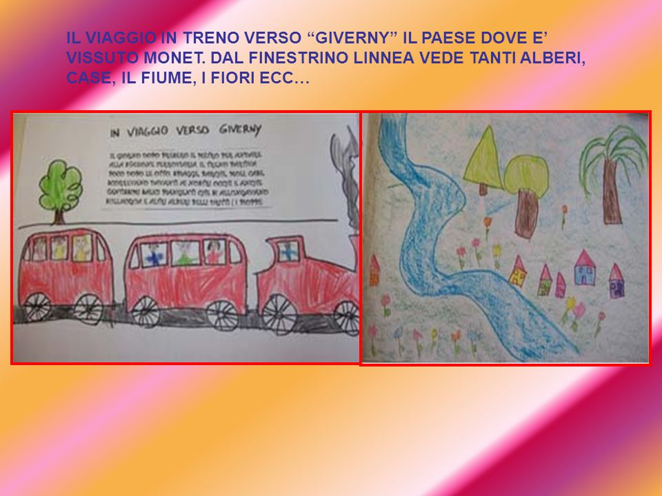 IL VIAGGIO IN TRENO VERSO GIVERNY IL PAESE DOVE E' VISSUTO MONET