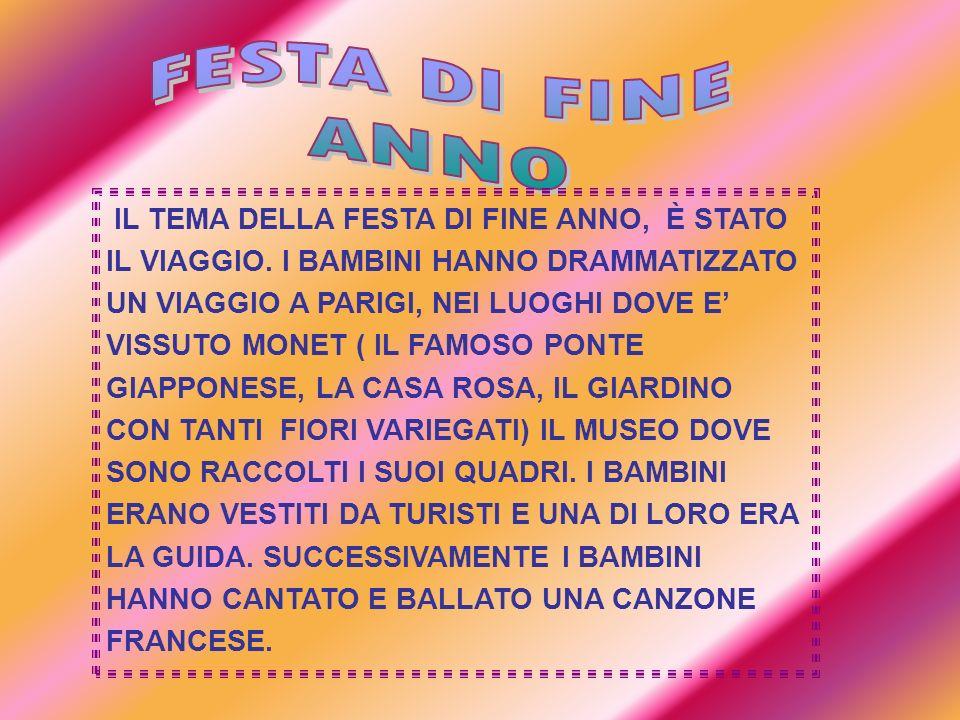 FESTA DI FINE ANNO.