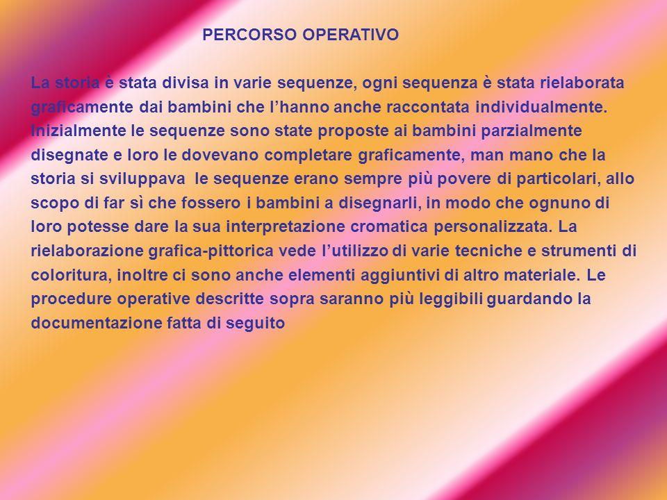 PERCORSO OPERATIVO