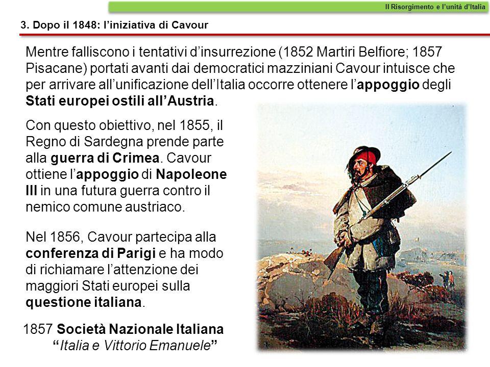 1857 Società Nazionale Italiana Italia e Vittorio Emanuele
