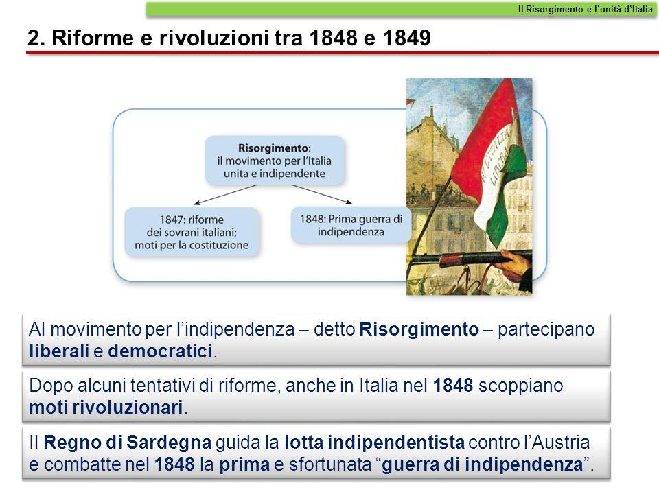 2. Riforme e rivoluzioni tra 1848 e 1849