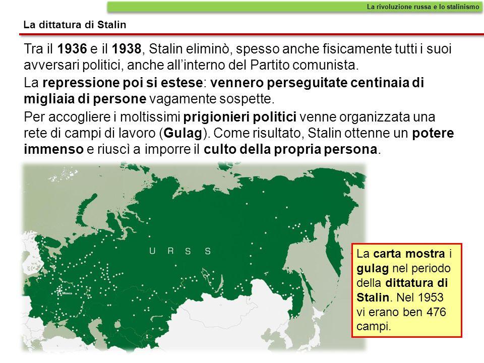 La rivoluzione russa e lo stalinismo