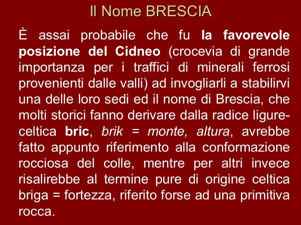 Il Nome BRESCIA