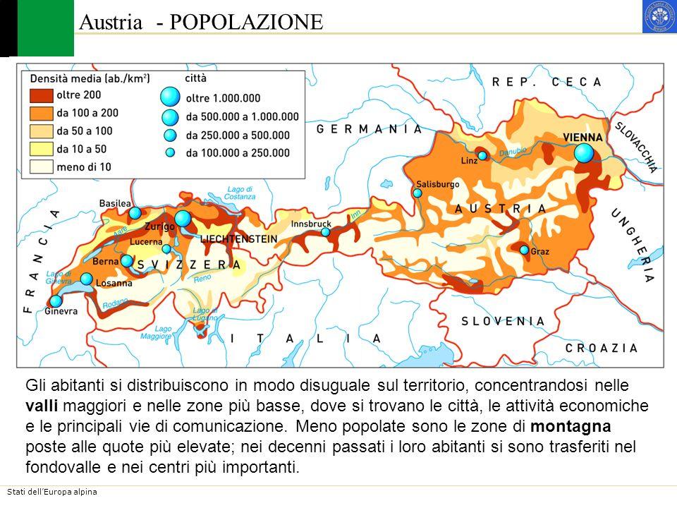 Austria - POPOLAZIONE