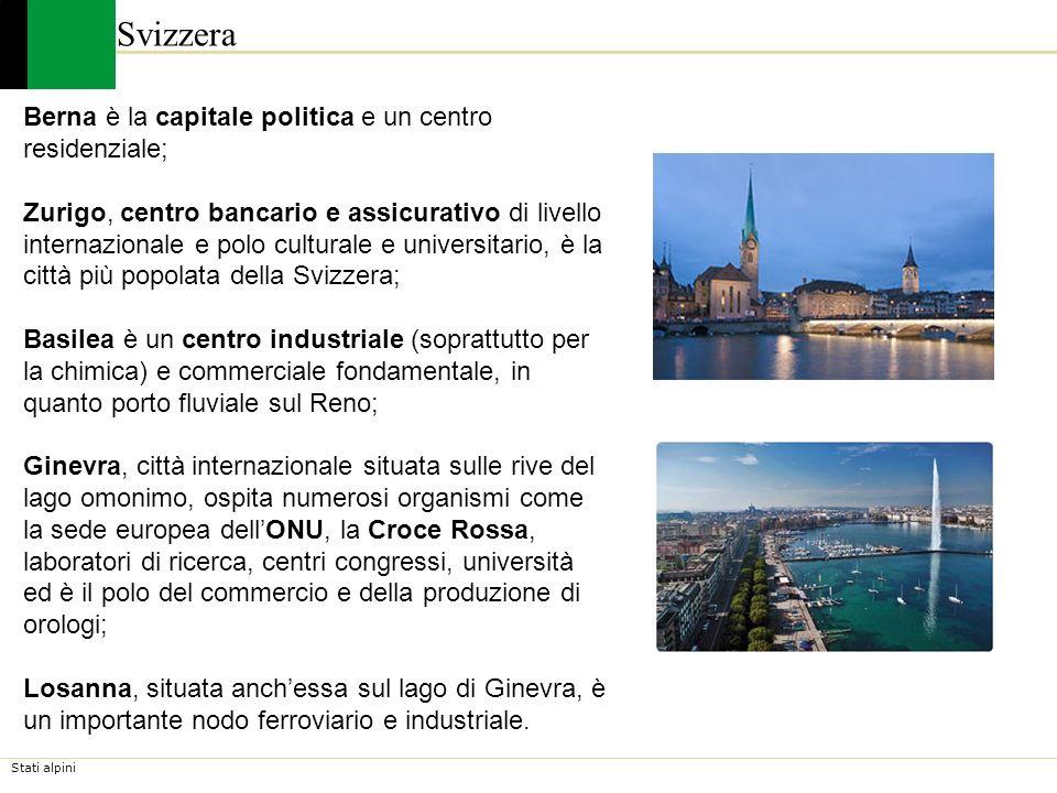 Svizzera Berna è la capitale politica e un centro residenziale;
