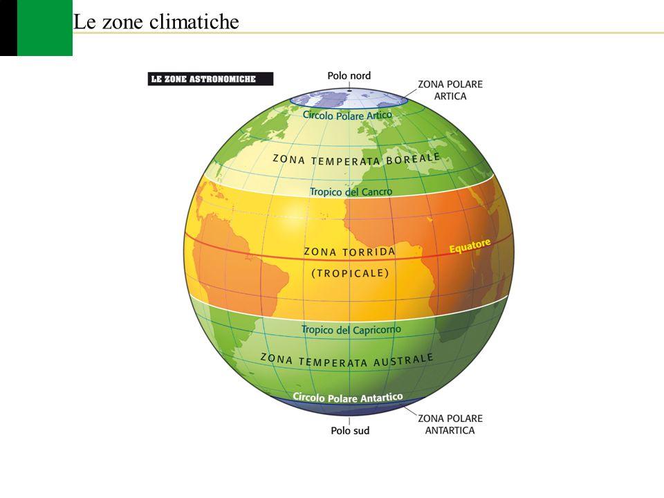 Le zone climatiche