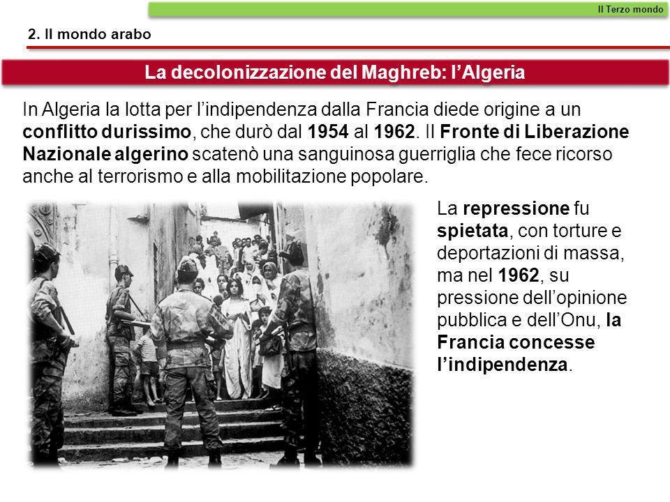 La decolonizzazione del Maghreb: l'Algeria