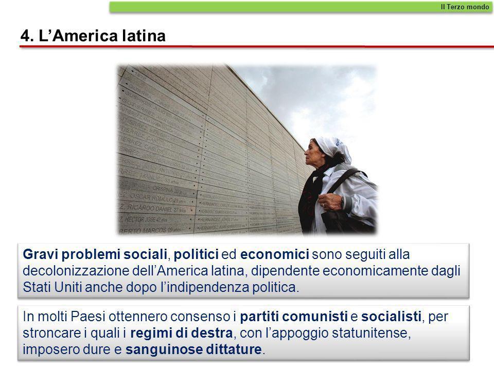 Il Terzo mondo 4. L'America latina.
