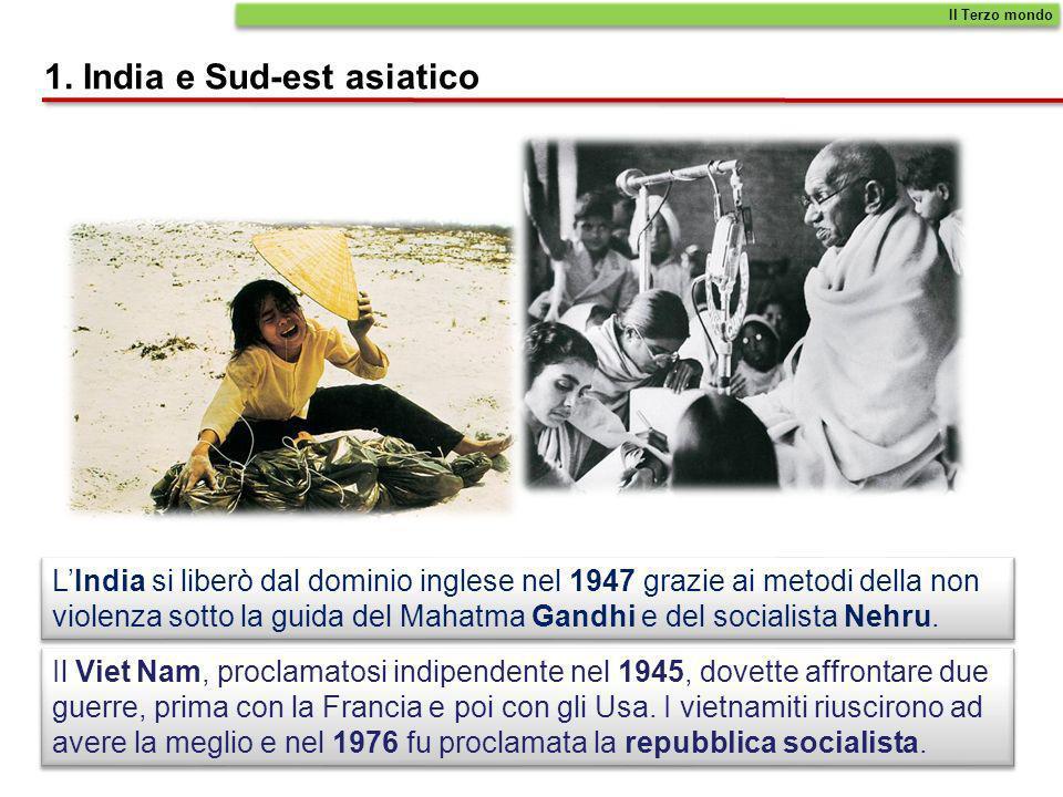 1. India e Sud-est asiatico