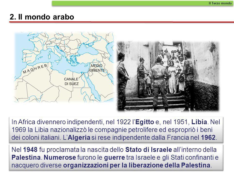 Il Terzo mondo 2. Il mondo arabo.