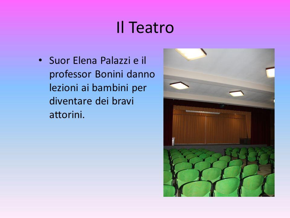 Il Teatro Suor Elena Palazzi e il professor Bonini danno lezioni ai bambini per diventare dei bravi attorini.