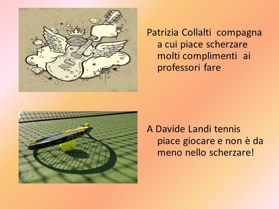A Davide Landi tennis piace giocare e non è da meno nello scherzare!