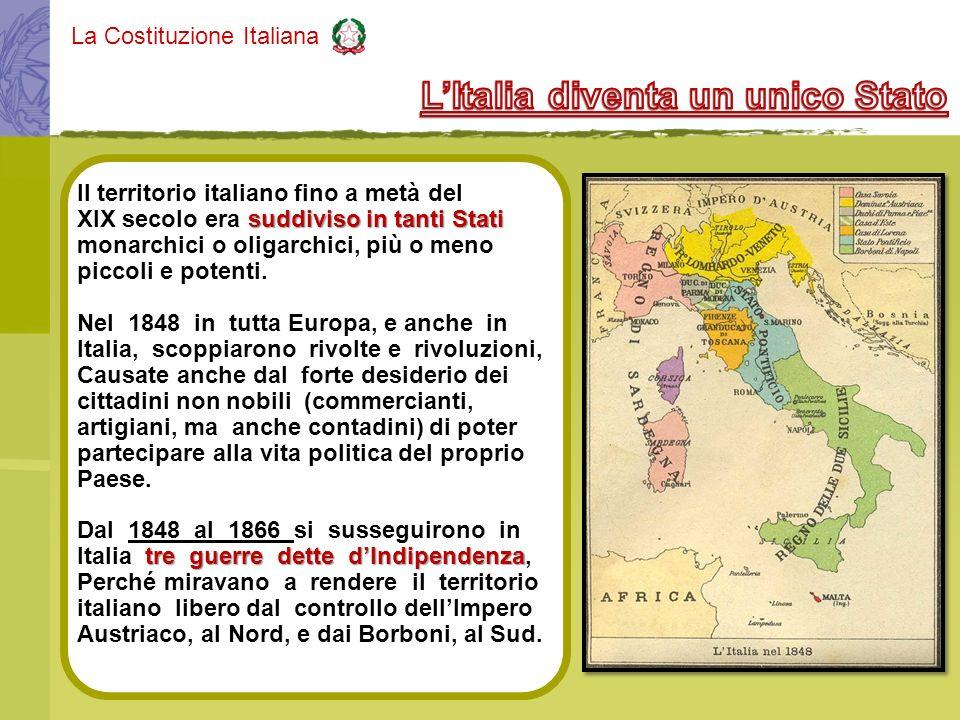 L'Italia diventa un unico Stato