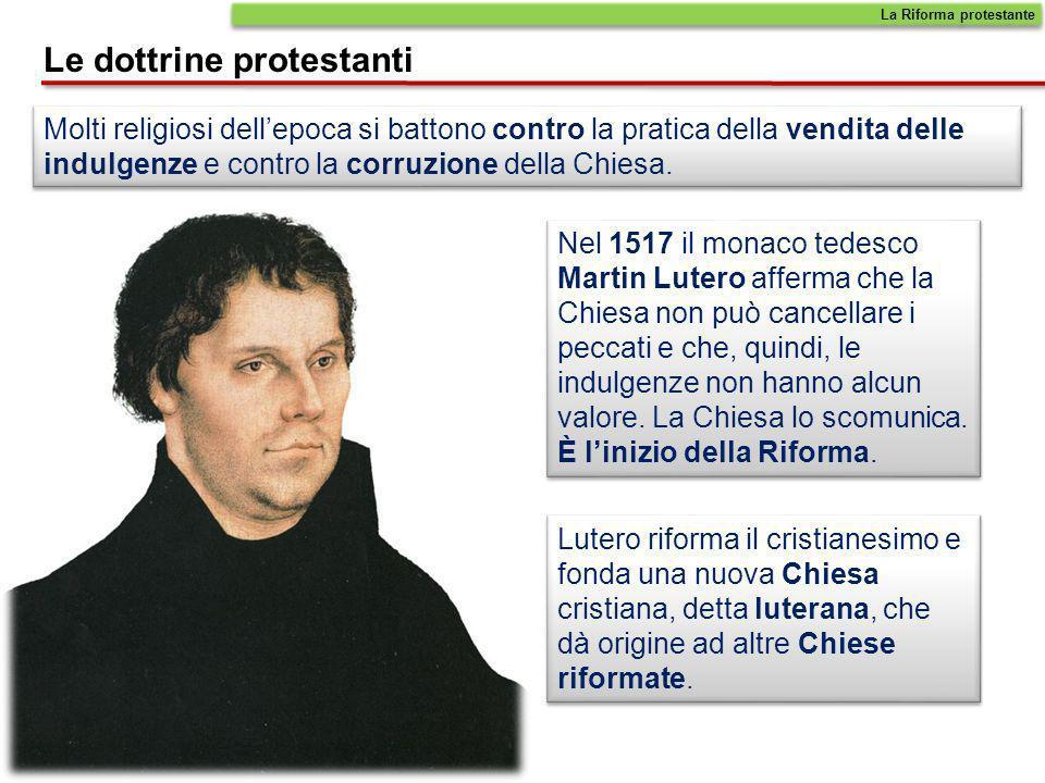 Le dottrine protestanti