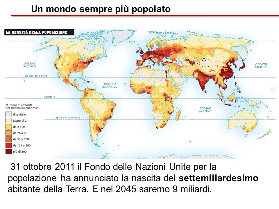 Un mondo sempre più popolato