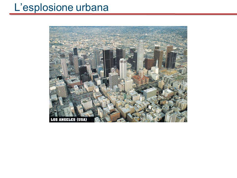 L'esplosione urbana