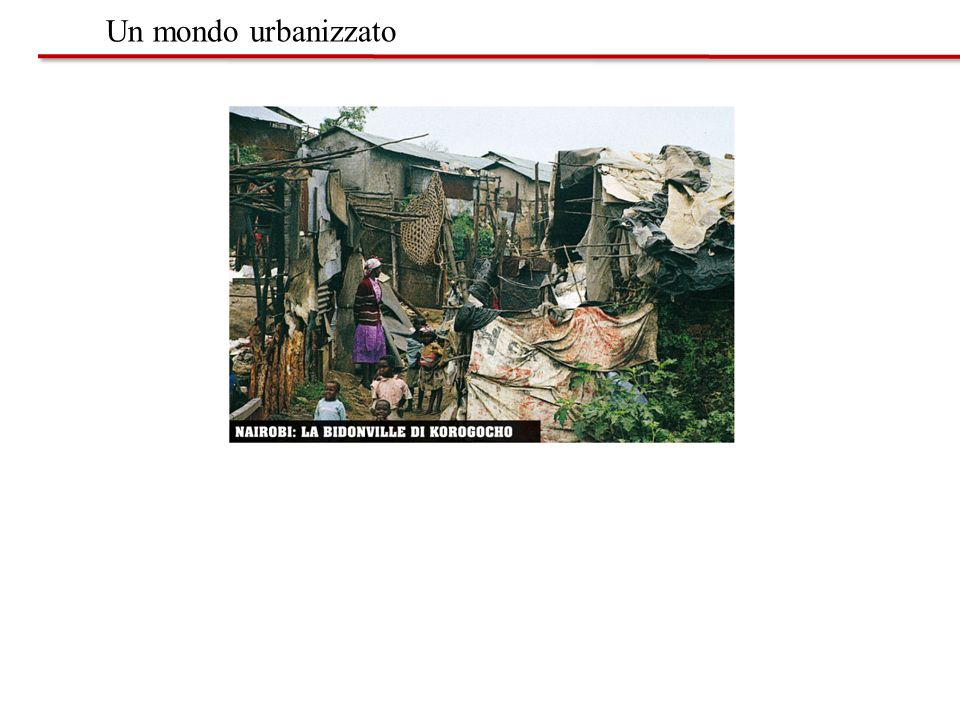 Un mondo urbanizzato