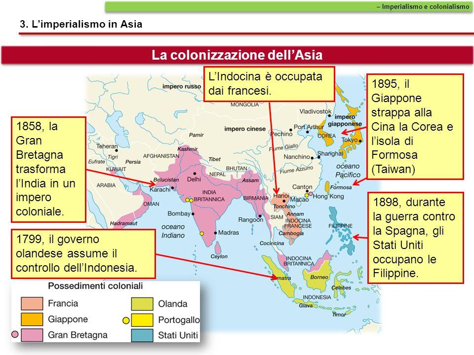 La colonizzazione dell'Asia