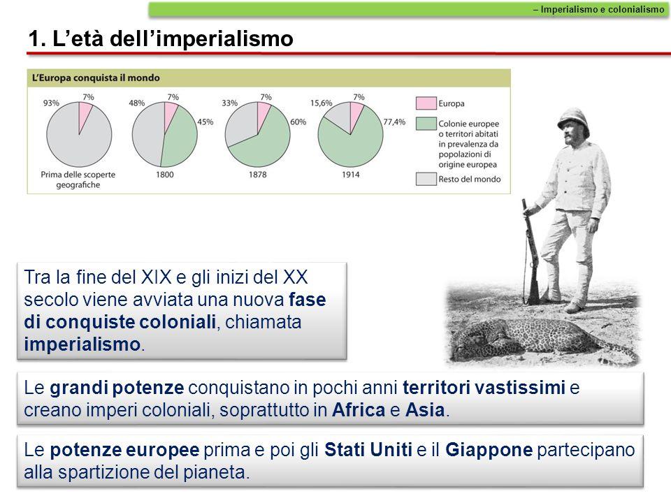 1. L'età dell'imperialismo