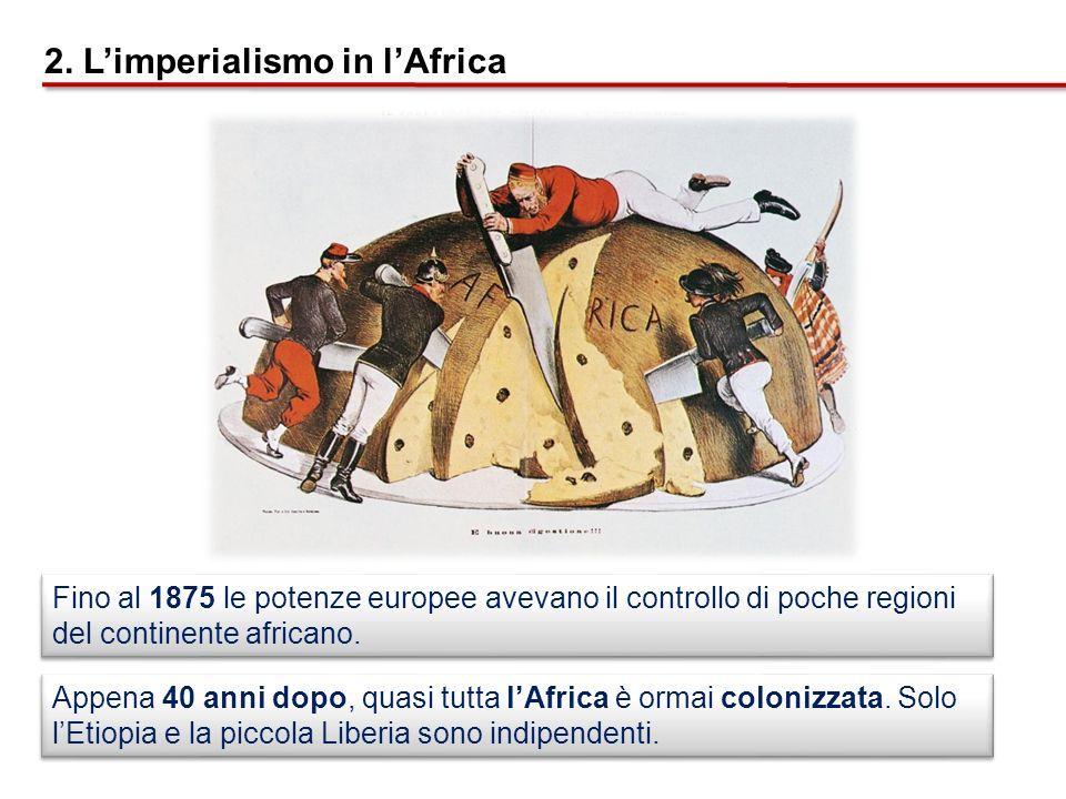 2. L'imperialismo in l'Africa