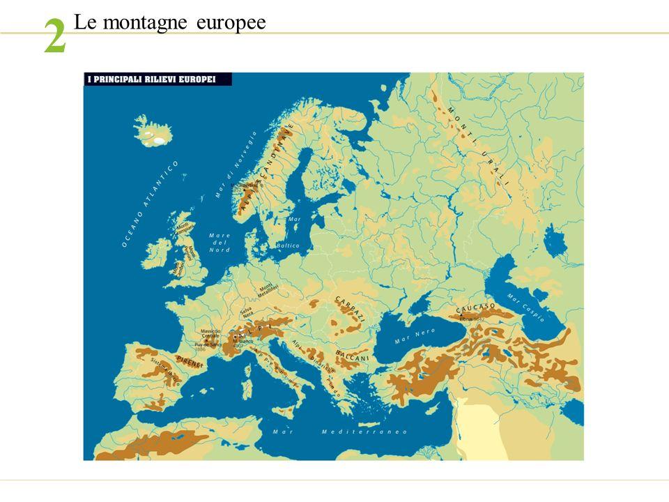 2 Le montagne europee