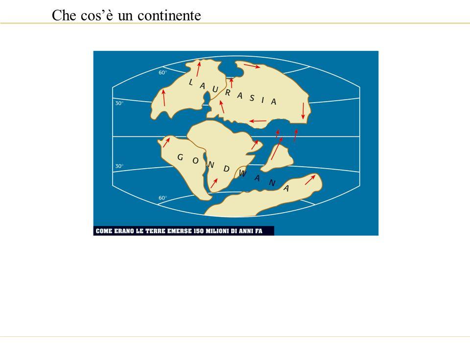 Che cos'è un continente
