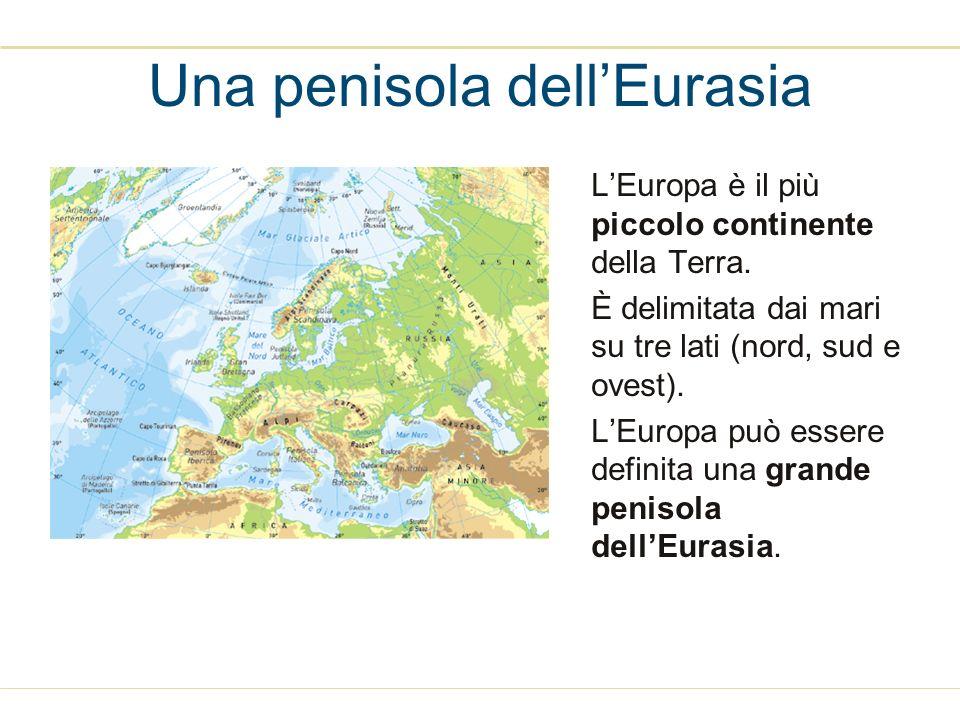 Una penisola dell'Eurasia
