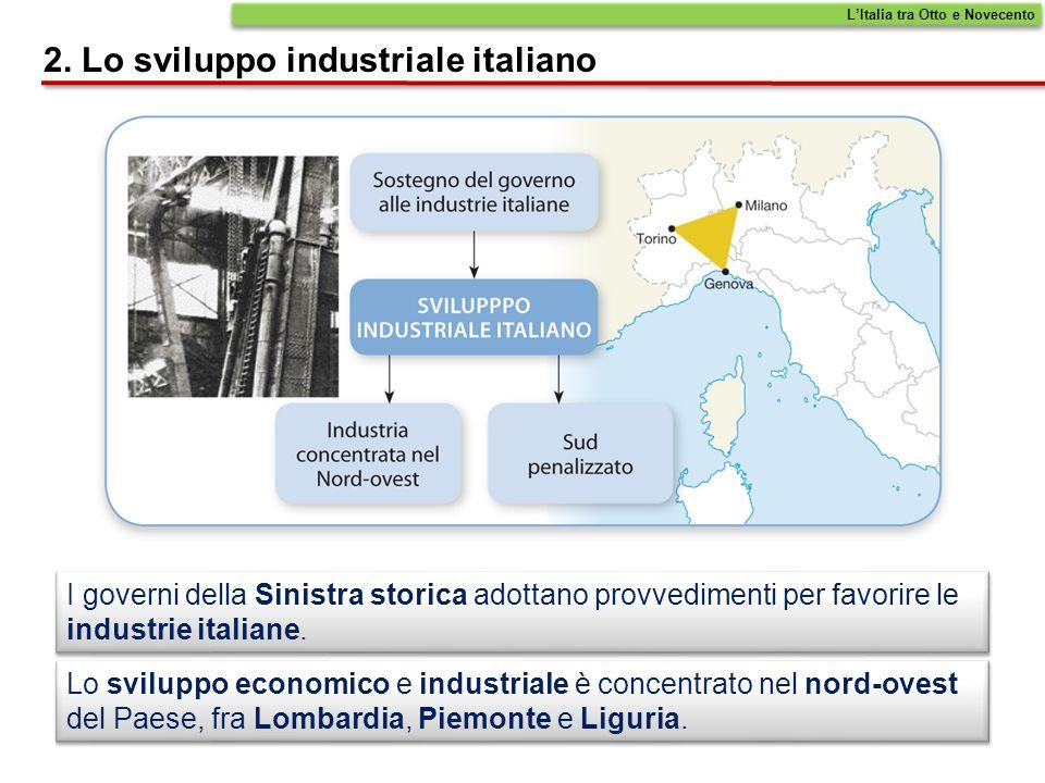 2. Lo sviluppo industriale italiano