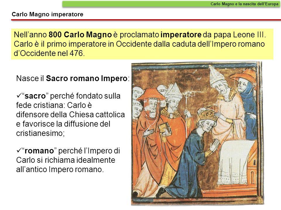 Nasce il Sacro romano Impero: