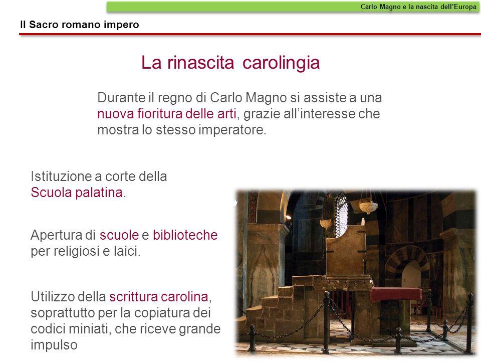La rinascita carolingia